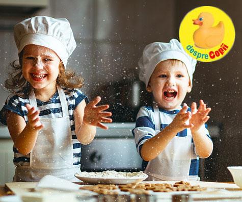 Fursecurile pentru sarbatori si implicarea copiilor in bucatarie