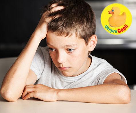 Iată de ce stresul este o cauză a durerii de cap la copii