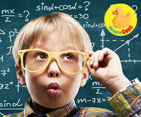 Copiii si matematica, prieteni sau dusmani?