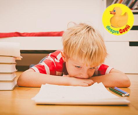 Poate matematica să dea dureri de cap copiilor?