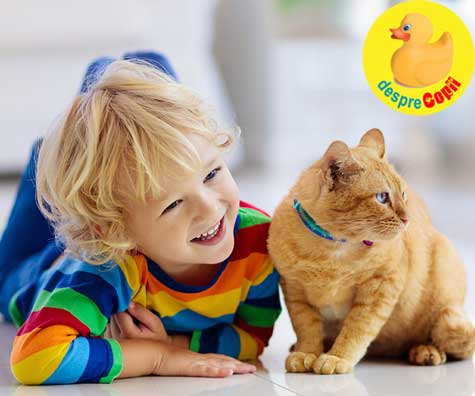 Rolul animalelor de casa in cresterea si dezvoltarea copiilor - un reportaj marca Desprecopii