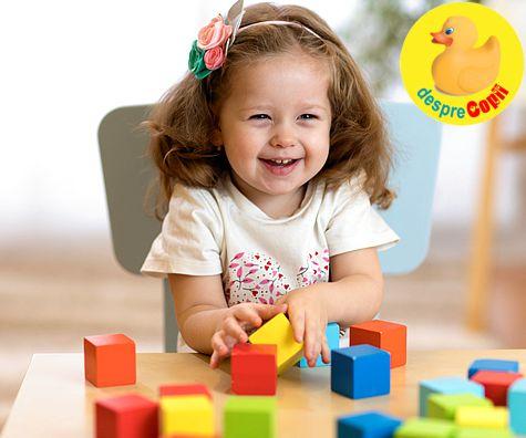 Copilul intre 1 si 3 ani, repere ale dezvoltarii fizice
