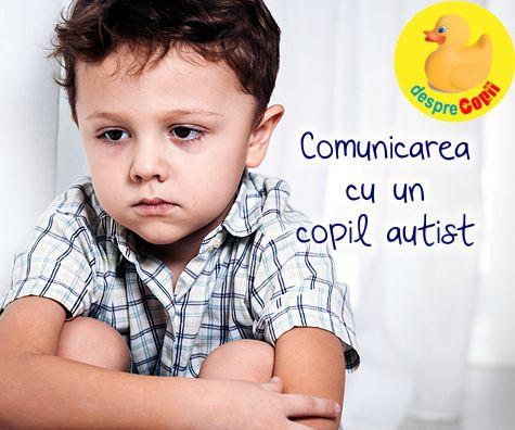 Comunicarea cu un copil autist