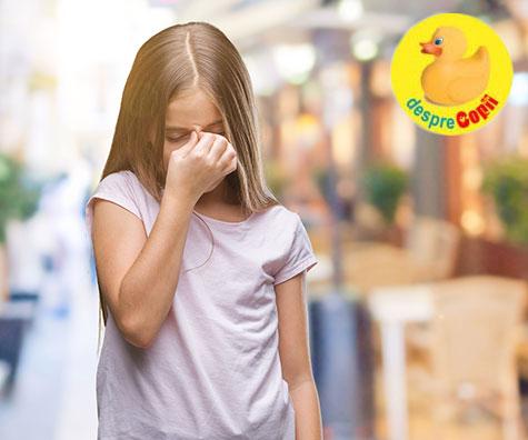 Ce pot insemna durerile de cap ale copiilor?