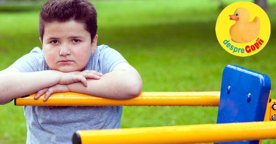 Cum ne ajutam copilul sa piarda din greutate