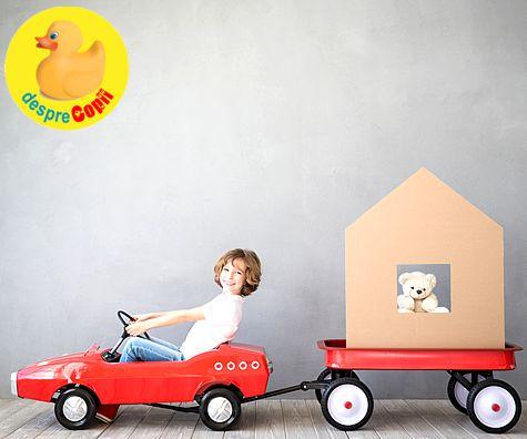 Un copil autonom este un este un copil fericit, care se descurca pe cont propriu