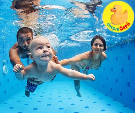 6 motive pentru care copilul tau ar trebui sa invete sa inoate