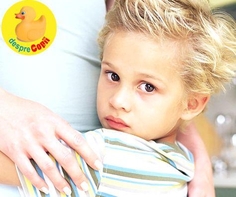 Cand copilul este excesiv de mamos: sfatul psihologului