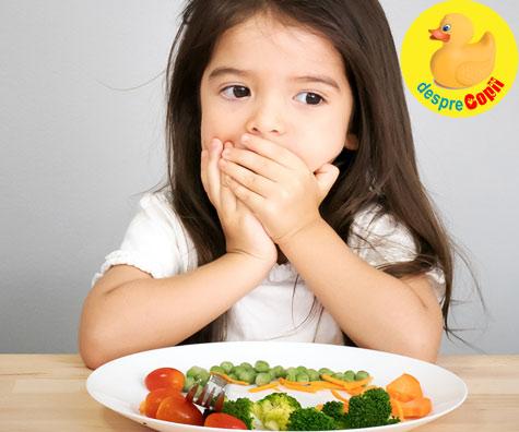 Cum ne convingem copilul sa manance legume - cateva sfaturi de la medicul nutritionist