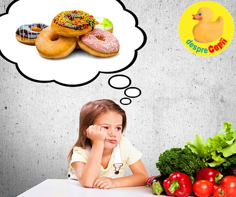 Cum ne ajutam copilul sa aleaga mancarea sanatoasa: 9 sfaturi concrete