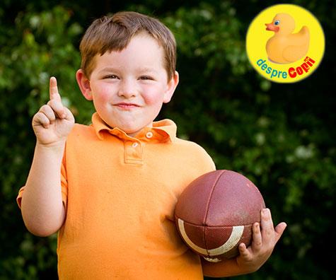 Cand copilul nu este un talent sportiv