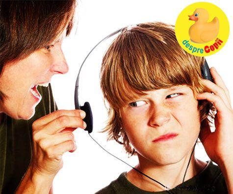Despre ascultare si copii: de ce trebuie sa spunem de 10 ori ca sa fim intelesi?