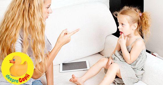 Cum punem limite copilului fara sa il pedepsim?