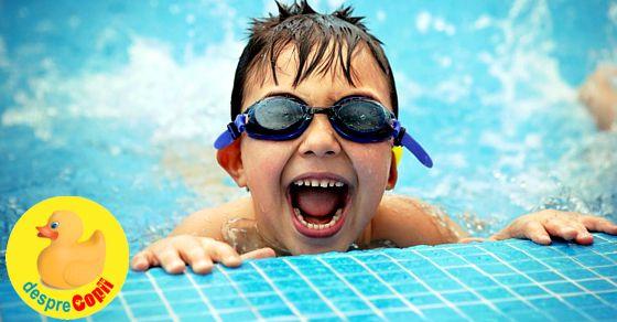 Inotul in piscina: sfaturi pentru siguranta