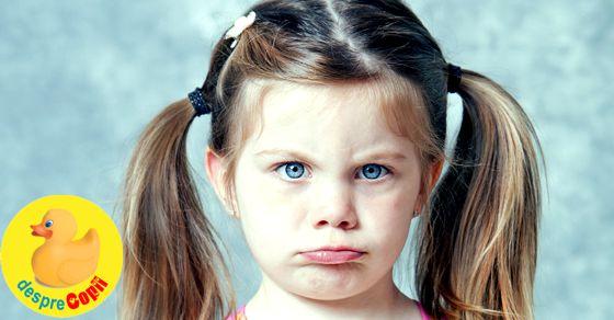 De unde stim ca ne rasfatam copilul: 10 dovezi