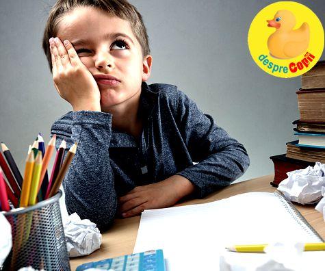 De ce nu este copilul meu atent in clasa? Oare are deficit de atentie?