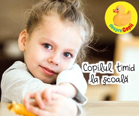 Copilul timid la scoala: 4 sfaturi pentru parinti