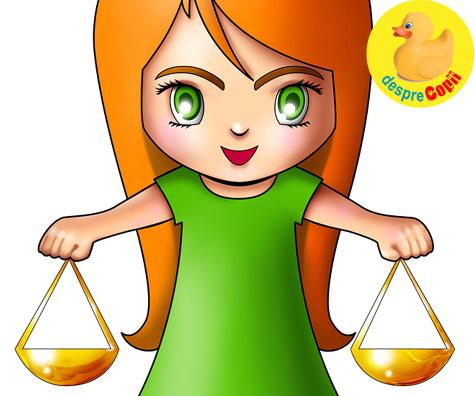 Copilul Balanta - Horoscopul copiilor