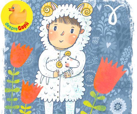 Copilul Berbec - horoscopul copiilor