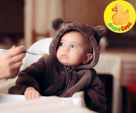 Cand bebelusul accepta doar mancarea pasata - ce si cum facem?