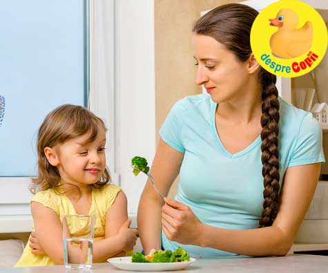 Cum convingi copilul sa manance legume?