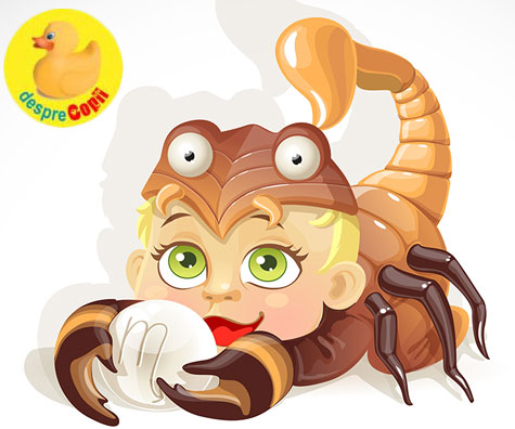 Horoscopul copiilor: Copilul Scorpion
