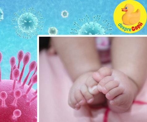 Un bebelus nou-nascut a fost infectat cu coronavirus iar asta e un cosmar pentru fiecare femeie insarcinata