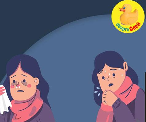 Coronavirusul si gripa - asemanari si diferente