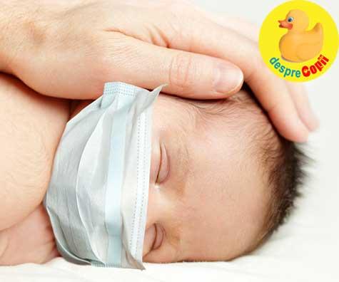 O treime dintre nou-nascuti sunt infectati cu virusul Covid-19 inainte sau in timpul nasterii
