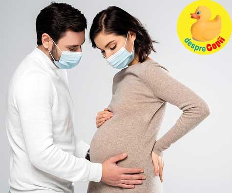 Coronavirusul nu ne-a ocolit nici pe noi - jurnal de sarcina