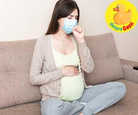 Infectia cu SARS-CoV 2 in sarcina - jurnal de sarcina