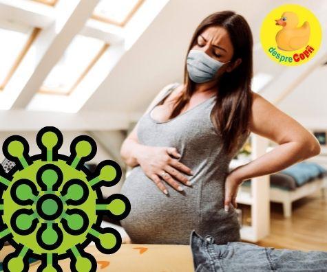 Varianta Delta a coronavirusului este mai periculoasa pentru femeile insarcinate nevaccinate si pentru femeile care tocmai au nascut