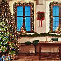 Cum decoram ferestrele si usile de Craciun?