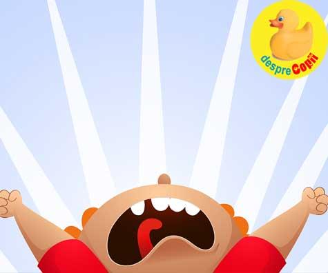 Crizele de nervi si lacrimi ale copilului - iata 10 motive pentru care sunt de fapt utile