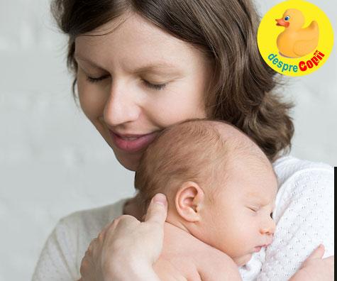 Cu bebe in brate dupa un cosmar care a durat un an. Si un bebe dus la ceruri - povestea a doua nasteri