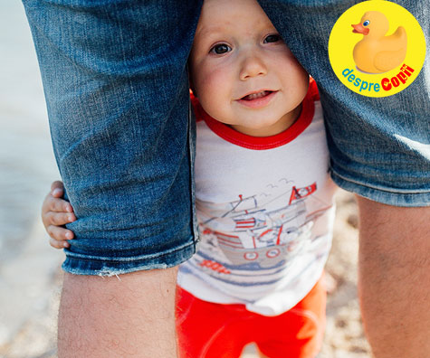 Cu bebe la mare: peripetii din prima zi