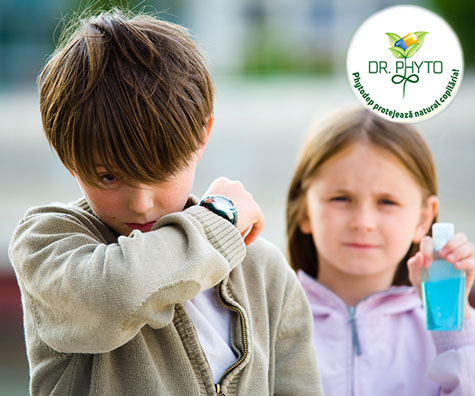 Cum ne invatam copiii sa se fereasca de gripa si raceala?
