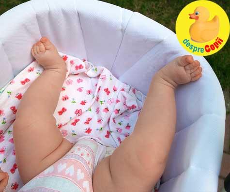 Cum imbracam un nou-nascut pe timp de vara?