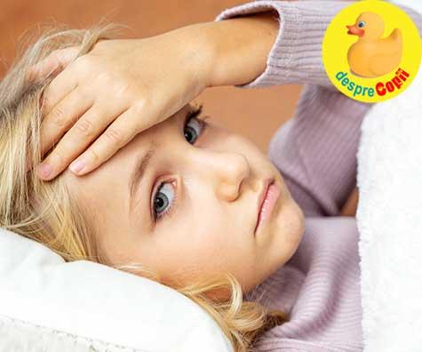 Cum tratam corect gripa sezoniera la copil
