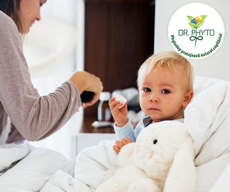 Cum tratam banala raceala a copilului?
