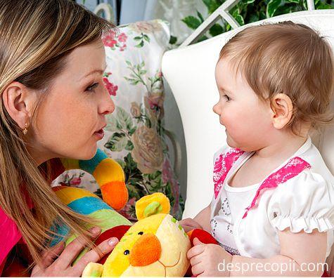 Cum vorbim cu bebelusul si de ce este important acest lucru