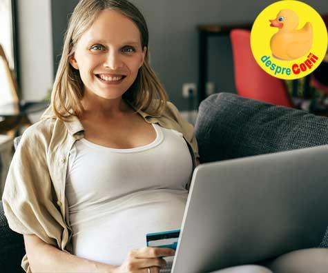 Am facut cumparaturile pentru bebe din timp - jurnal de sarcina