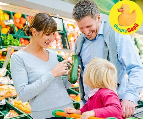 Cum facem cumparaturi inteligent, economisind timp si bani, cand avem copii? Sfaturi utile.
