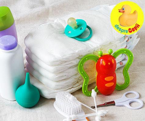 Ce cumperi pentru bebe in prima saptamana?