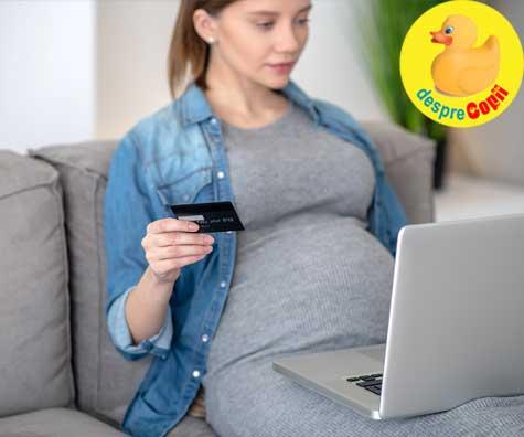 Anxietatea cumparaturilor pentru bebe si lista de necesitati - jurnal de sarcina