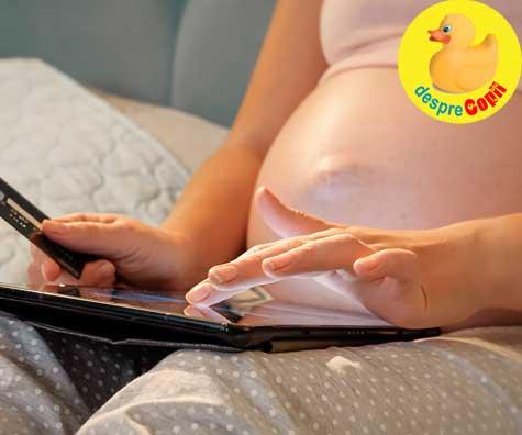 Cumparaturile sunt aproape gata in saptamana 33 - jurnal de sarcina
