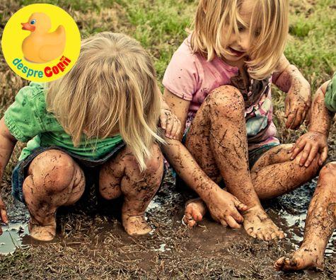 Curba de invatare a copilului sau despre fericirea simpla a copilariei