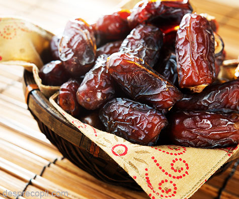 Curmalele, un fruct incarcat de beneficii pentru sanatate