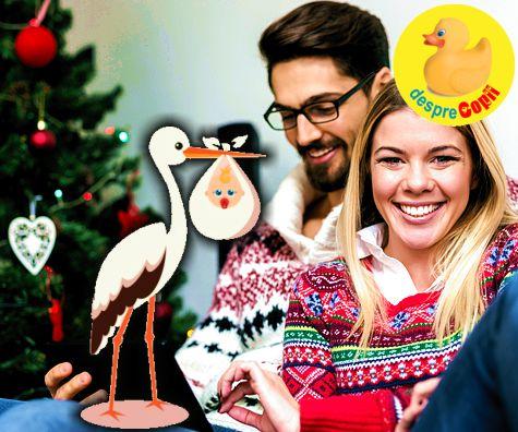 Decembrie: luna perfecta pentru a concepe copii