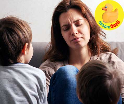 Mesaj urgent pentru acele mamici care se lupta cu anxietatea si depresia: cautati ajutor de dragul copiilor
